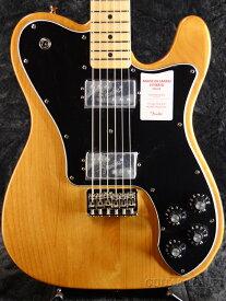 Fender Made in Japan Hybrid Telecaster Deluxe -Vintage Natural- 新品 《レビューを書いて特典プレゼント!!》[フェンダージャパン][ハイブリッド][テレキャスターデラックス][ナチュラル][Electric Guitar,エレキギター]