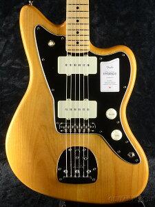 Fender Made In Japan Hybrid II Jazzmaster -Vintage Natural / Maple-[フェンダージャパン][ハイブリッド][ジャズマスター][ナチュラル][Electric Guitar,エレキギター]