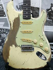 Fender Custom Shop MBS 1961 Stratocaster Ultimate Relic -Aged Vintage White- by Jason Smith 新品[フェンダーカスタムショップ,CS][ジェイソン・スミス][ホワイト,白][ストラトキャスター][Electric Guitar,エレキギター]
