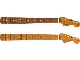 Fender Roasted Maple Stratocaster Neck -Jumbo Frets / Flat Oval Shape- 新品[フェンダー][ストラトキャスター][Mexico,メキシコ製][ネック][Pau Ferro,ローステッド,メイプル,パーフェロー][ギターパーツ]