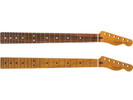 Fender Roasted Maple Telecaster Neck -Jumbo Frets / Flat Oval Shape- 新品[フェンダー][Mexico,メキシコ製][ネック][テレキャスター][Pau Ferro,ローステッド,メイプル,パーフェロー][ギターパーツ]