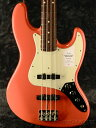 【NEW MODEL】Fender Made In Japan Traditional 60s Jazz Bass -Fiesta Red- 新品[フェンダージャパン][トラディショナル][フィエスタ…