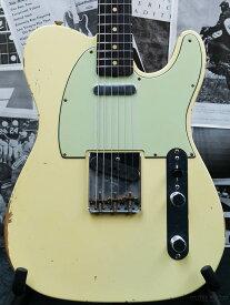 Fender Custom Shop Guitar Planet Exclusive 1961 Telecaster Relic -Aged Vintage White- 新品[フェンダーカスタムショップ][テレキャスター][White,ホワイト,白][Guitar,ギター]