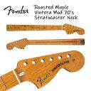 Fender Roasted Maple Vintera Mod 70's Stratocaster Neck 21 Medium Jumbo Frets 9....