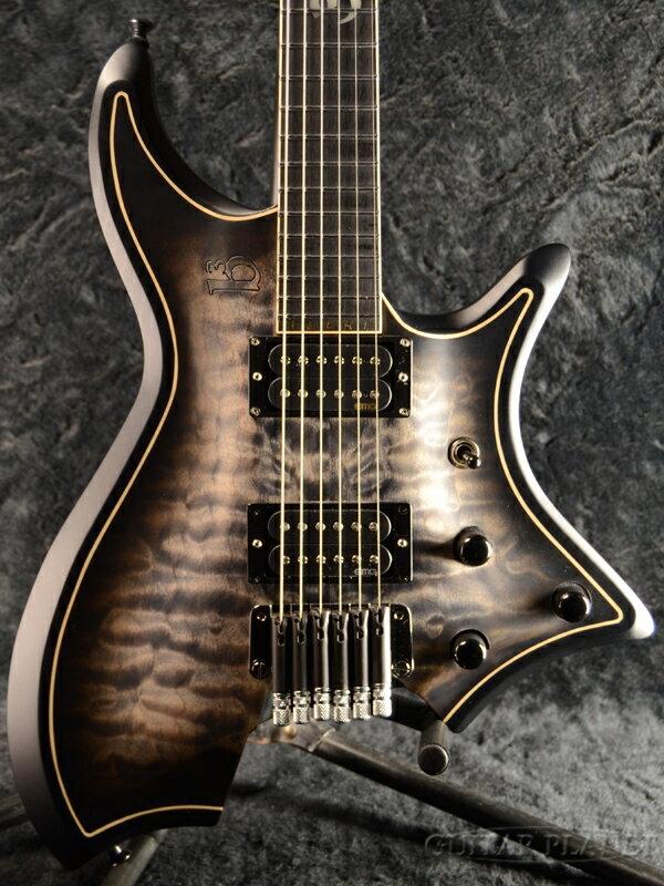 【当店カスタムオーダー品】b3 RingMaster Pallas 6 -Transparent Black- 新品[リングマスター][ジーン・ベイカー][トランスブラック,黒][Electric Guitar,エレキギター]
