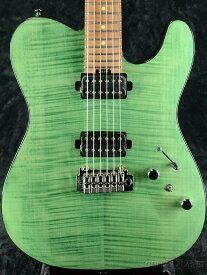 【コイルタップ機能搭載モデル】Bacchus Global Series TACTICS24-FM/RSM -ST-SFG- 新品[バッカス][Telecaster,テレキャスター][Guitar,ギター][Green,グリーン,緑]