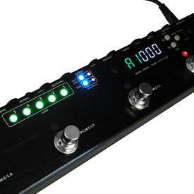 One Control Caiman Tail Loop 新品 プログラマブルスイッチャー[ワンコントロール][ケイマンテイルループ][Switcher,ラインセレクター][Effector,エフェクター]