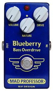 MAD PROFESSOR New Blueberry Bass Overdrive 新品 ベース用オーバードライブ [マッドプロフェッサー][ニュー][ブルーベリー][Overdrive][Effector,エフェクター]