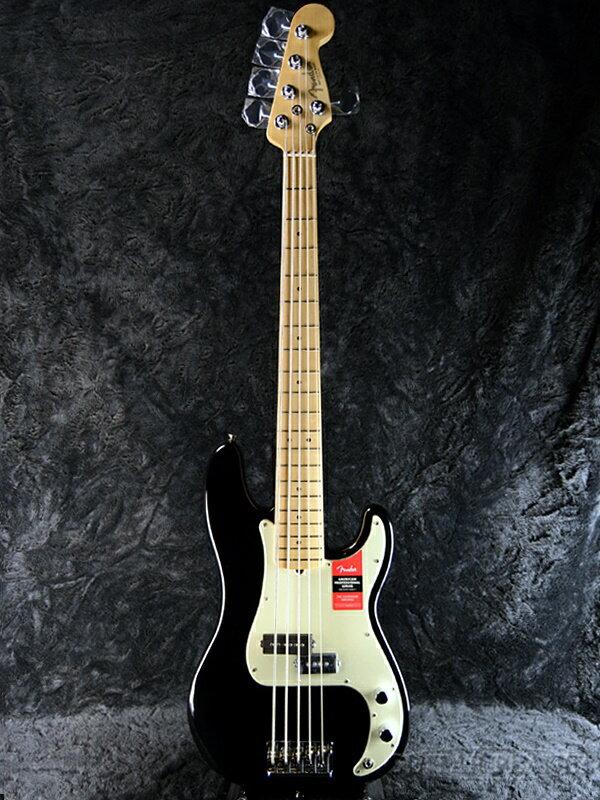 Fender USA American Professional Precision Bass V Black 新品[フェンダー][アメリカンプロフェッショナル,アメプロ][5strings,5弦][ブラック,黒][プレシジョンベース,プレべ,PB][Electric Bass,エレキベース]