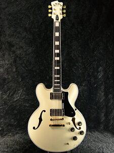 FUJIGEN MSA-HP-C/AWH 新品[フジゲン,富士弦,FgN][国産][White,ホワイト,白][セミアコ][Electric Guitar,エレキギター]