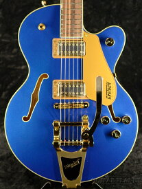 Gretsch G5655TG Electromatic Center Block Jr. Single-Cut with Bigsby Azure Metallic 新品[グレッチ][エレクトロマチック][アジュールメタリック,ブルー,青][Electric Guitar,エレキギター]