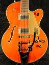 Gretsch G5655TG Electromatic Center Block Jr. Single-Cut with Bigsby Orange Stain 新品[グレッチ][エレクトロマチック][オレンジ]…