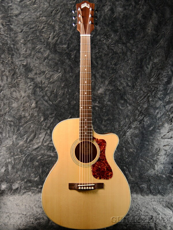 Guild OM-240CE -The Westerly Collection- 新品 NAT[ギルド][ピックアップ搭載][Natural,ナチュラル][Electric Acoustic Guitar,アコースティックギター,エレアコ][OM240CE]