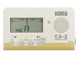 KORG CA-2 新品 クロマチックチューナー[コルグ][Chromatic Tuner][管楽器/弦楽器用]