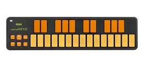 【10周年限定カラーモデル!!】KORG nanoKEY2 ORGR 新品 オレンジ&グリーン[コルグ][ナノキー2][Orange][Green,緑][25鍵盤]