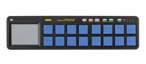 【10周年限定カラーモデル!!】KORG nanoPAD2 BLYL 新品 ブルー&イエロー[コルグ][ナノパッド2][Blue,青][Yellow,黄色]