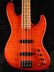 【新品アウトレット特価】Mike Lull Custom Guitars M4 AAAAA Flame Maple / Alder -Fire Orange / Maple- 新品[マイクルル][オレンジ][Jazz Bass,ジャズベース][Electric Bass,エレキベース]