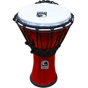 "TOCA Freestyle II Djembe 7"" - Metallic Red 新品[トカ][ジャンベ][Percussion,パーカッション][打楽器,ドラム][TFCDJ-7MR]"