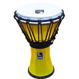 "TOCA Freestyle II Djembe 7"" - Metallic Yellow 新品[トカ][ジャンベ][Percussion,パーカッション][打楽器,ドラム][TFCDJ-7MY]"