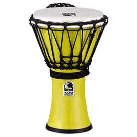 "TOCA FreestyleII Djembe 7""-Pastel Yellow 新品[トカ][ジャンベ][Percussion,パーカッション][打楽器,ドラム][TFCDJ-7PY]"