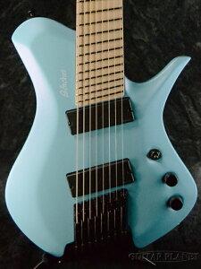 【当店カスタムオーダー品】BLACKAT Guitars HSA 8 -Light Blue with pearlescent finish- 新品[Headless,ヘッドレス][8弦,8Strings][ライトブルー,青][Electric Guitar,エレキギター]