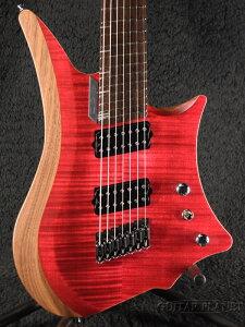 C.GIG Y-REF Double Cut -Trans Red- 新品[Cギグ][トランスレッド,赤][ダブルカッタウェイ][7strings,7弦][ヘッドレス][Electric Guitar,エレキギター]