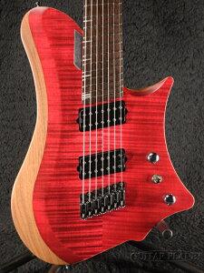 C.GIG Y-REF Single Cut -Trans Red- 新品[Cギグ][トランスレッド,赤][シングルカッタウェイ][7strings,7弦][ヘッドレス][Electric Guitar,エレキギター]