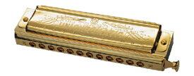 TOMBO 1248SG UNI Chromatic Gold クロマチックハーモニカ 新品 化粧箱付[トンボ][ユニ][12穴,12H][スライド式][Harmonica]