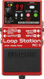 BOSS RC-3 新品 Loop Station[ボス][ループステーション][エフェクター,Effector]