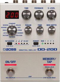 BOSS DD-200 Digital Delay 新品 デジタルディレイ[ボス][ロングディレイ][モジュレート][エコー,シマー][Effector,エフェクター]