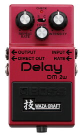 "BOSS DM-2W(J) ""技"" WAZA CRAFT ""MADE IN JAPAN"" 新品 Delay[ボス][Analog,アナログディレイ][エフェクター,Effector]"