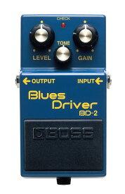 BOSS BD-2 新品 Blues Driver[ボス][エフェクター,Effector][オーバードライブ][ブルースドライバー][BD2]
