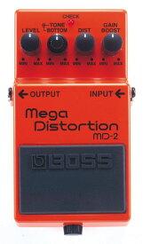 BOSS MD-2 新品 Mega Distortion[ボス][エフェクター,Effector][メガディストーション]