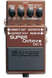 BOSS OC-3 新品 Super Octave[ボス][エフェクター,Effector][オクターバー]
