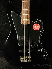 Squier Classic Vibe Jaguar Bass -Black- 新品[Fender,スクワイヤー,フェンダー][ブラック,黒][ジャガーベース][Electric Bass,エレキベース]