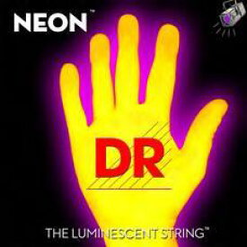 DR NEON 10-46 DR-NYE10 Yellow Medium エレキギター弦[ネオン][コーティング弦][イエロー,黄][ミディアム][string]