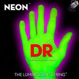 DR NEON 10-46 DR-NGE10 Green Medium エレキギター弦[ネオン][コーティング弦][グリーン,緑][ミディアム][string]