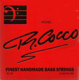 R.Cocco 45-100 RC 4FN NICKEL 4弦[リチャードココ][ニッケルラウンドワウンド][ベース弦,String]