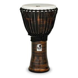 "TOCA Freestyle II Djembe 12"" -Spun Copper- Synthetic Head 新品[トカ][ジャンベ][Percussion,パーカッション][打楽器,ドラム][TF2DJ-12SC]"