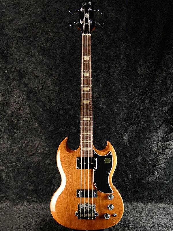 Gibson SG Standard Bass 2018 Walnut 新品[ギブソン][スタンダード][ウォルナット,Brown,ブラウン,茶,木目][Electric Bass,エレキベース]