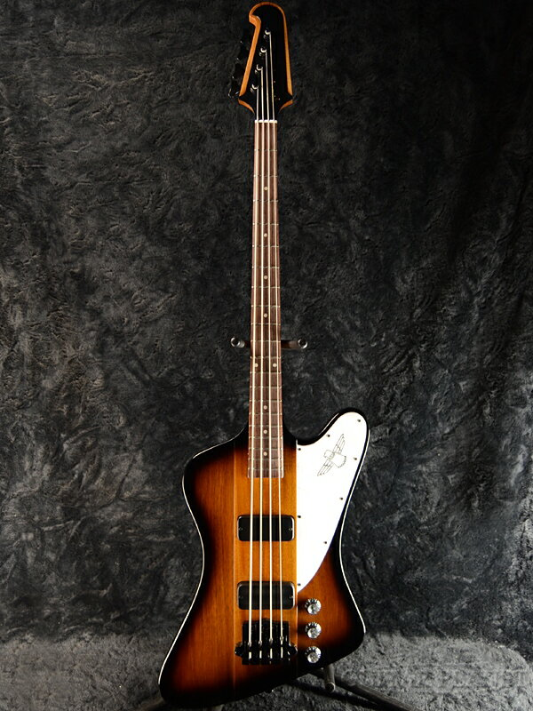 Gibson Thunderbird Bass 2018 Vintage Sunburst 新品 エボニーブラック[ギブソン][サンダーバード][サンバースト,木目][エレキベース,Electric Bass]