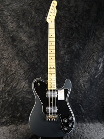 Fender Made in Japan Hybrid Telecaster Deluxe -Charcoal Frost Metallic- 新品 《レビューを書いて特典プレゼント!!》[フェンダージャパン][ハイブリッド][テレキャスターデラックス][Electric Guitar,エレキギター]