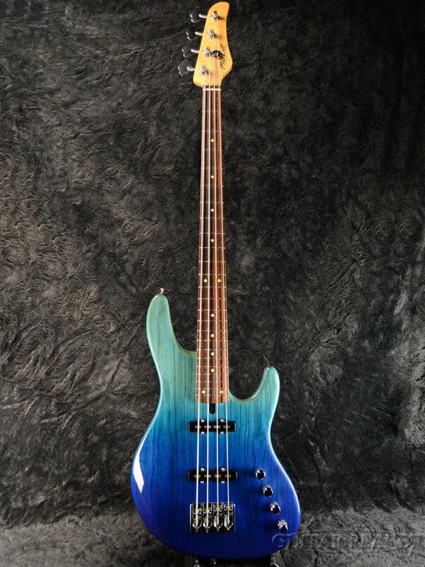 【中古】Mike Lull M4XL -Fade Blue-[マイクルル][フェイドブルー,青][Jazz Bass,JB,ジャズベース][Electric Bass,エレキベース]【used_ベース】
