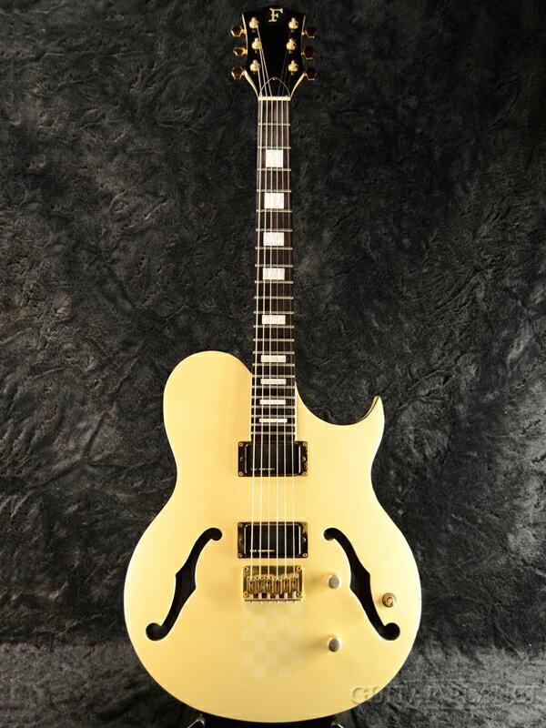 【中古】Fernandes MV-95HT -Pearl White- 1988-1990年製[フェルナンデス][布袋寅泰][パールホワイト,白][セミアコ,ホロウ][Electric Guitar,エレキギター]【used_エレキギター】