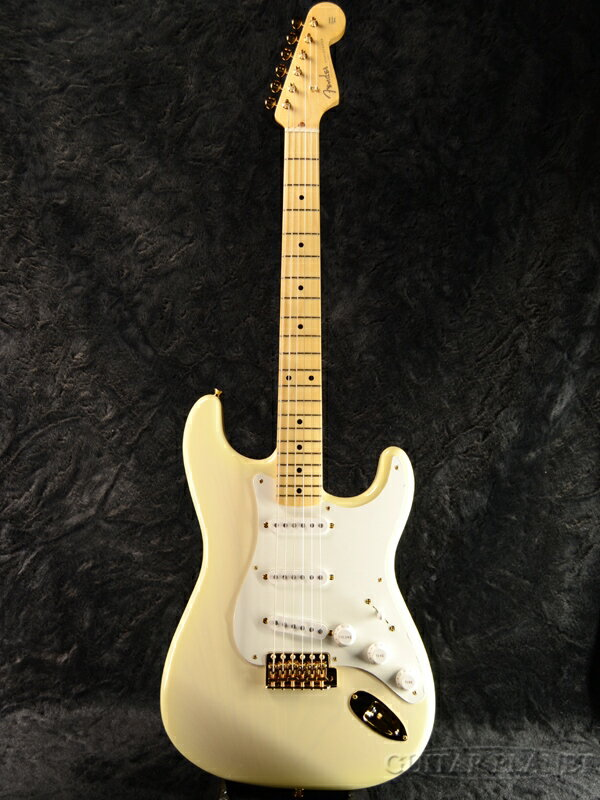 Fender Made in Japan 2018 Limited Collection 50s Stratocaster -White Blonde- 新品[フェンダージャパン][オールラッカー][ホワイトブロンド,白,木目][ストラトキャスター][Electric Guitar,エレキギター]