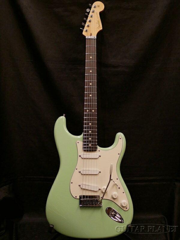 【中古】Fender Custom Shop MBS Custom Jeff Beck Stratocaster -Surf Green- by Todd Krause 2008年製[フェンダーカスタムショップ][ジェフベック][ストラトキャスター][サーフグリーン,緑][Electric Guitar,エレキギター]【used_エレキギター】