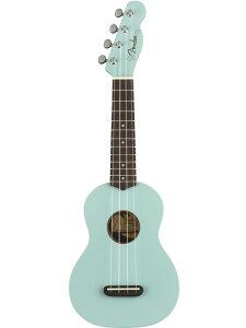 Fender Venice Soprano Ukulele -Daphne Blue- 新品 ソプラノウクレレ[フェンダー][ダフネブルー,青]