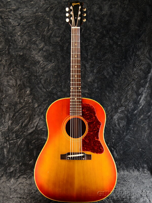 【中古】Gibson J-45 1964年製[ギブソン][Cherry Sunburst,チェリーサンバースト,赤][Acoustic Guitar,アコースティックギター,アコギ,Folk Guitar,フォークギター]【used_アコースティックギター】