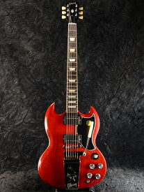 Gibson SG Standard '61 Maestro Vibrola -Vintage Cherry- 新品[ギブソン][スタンダード][Red,レッド,チェリー,赤][Electric Guitar,エレキギター]