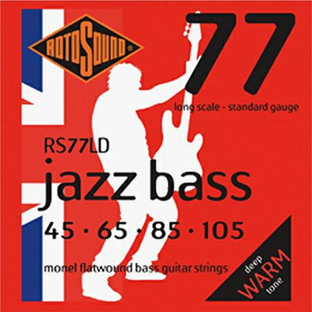 ROTOSOUND ROT-RS77LD 新品[ロトサウンド][フラットワウンド弦][ベース弦,String]
